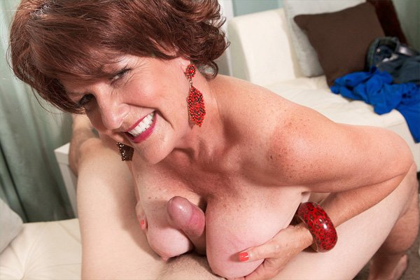 Hot 60 Plus MILF Gabriella LeMay Gets Boned