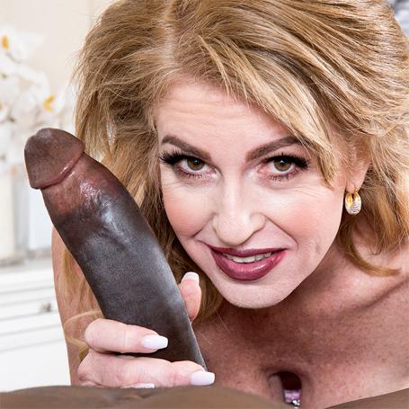 Hot Wife Sindi Star Rides a Fat Black Cock